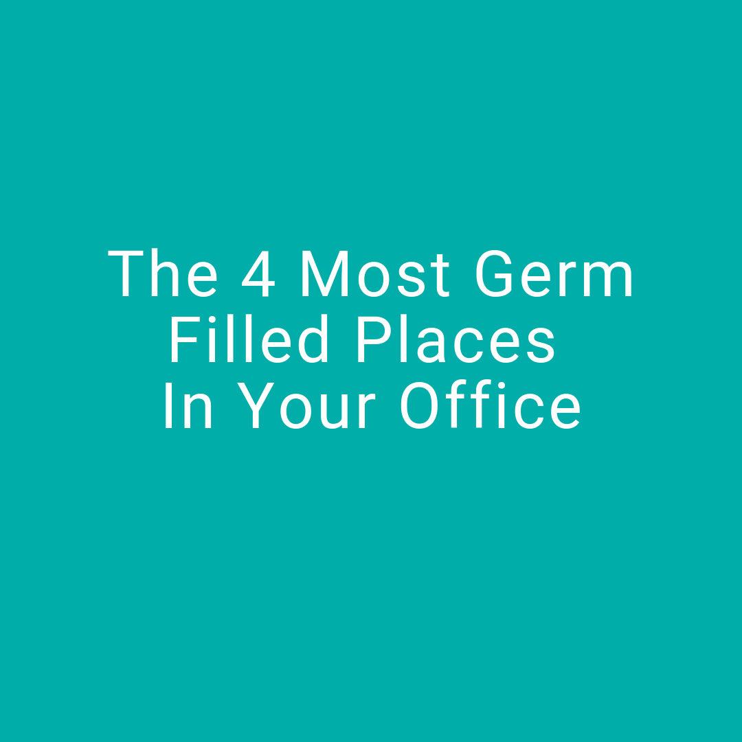 4 most germ filled places in your office