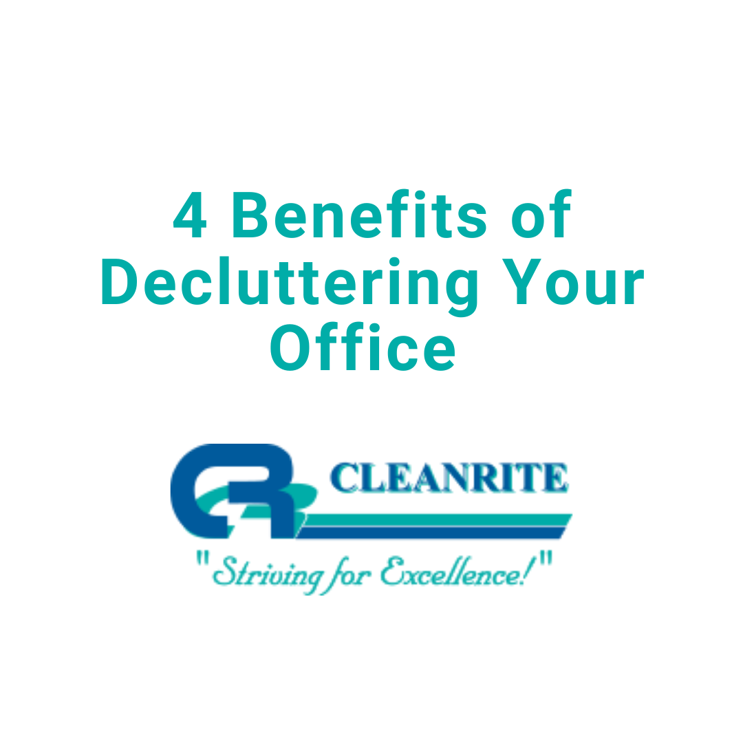 4 Benefits of Decluttering your office