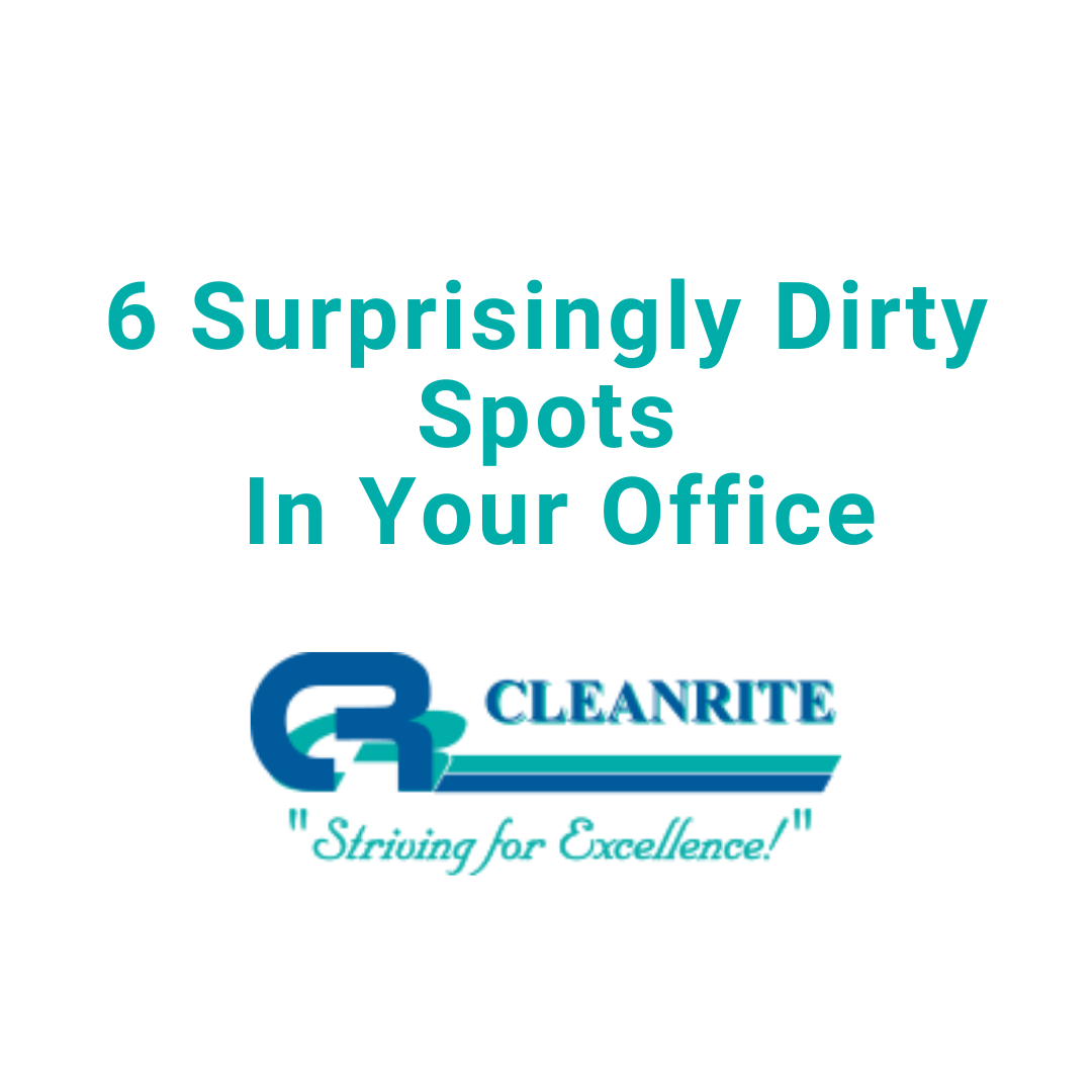6 Dirty Spots in your office