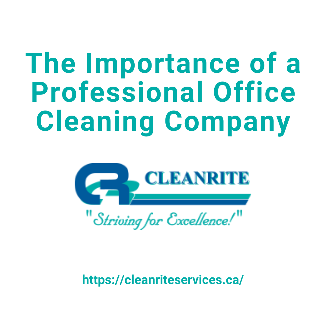 Importance of a professional cleaning company
