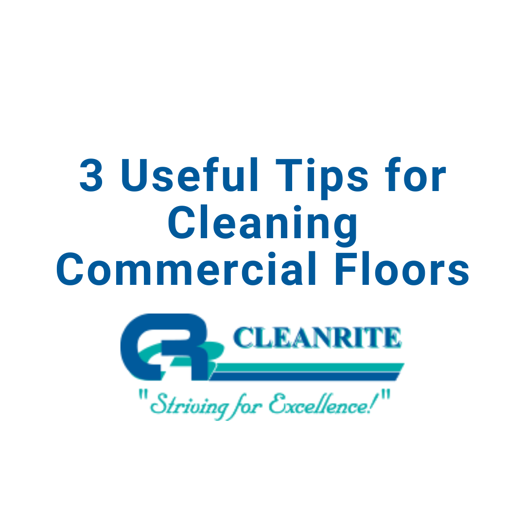 cleaning commercial floors
