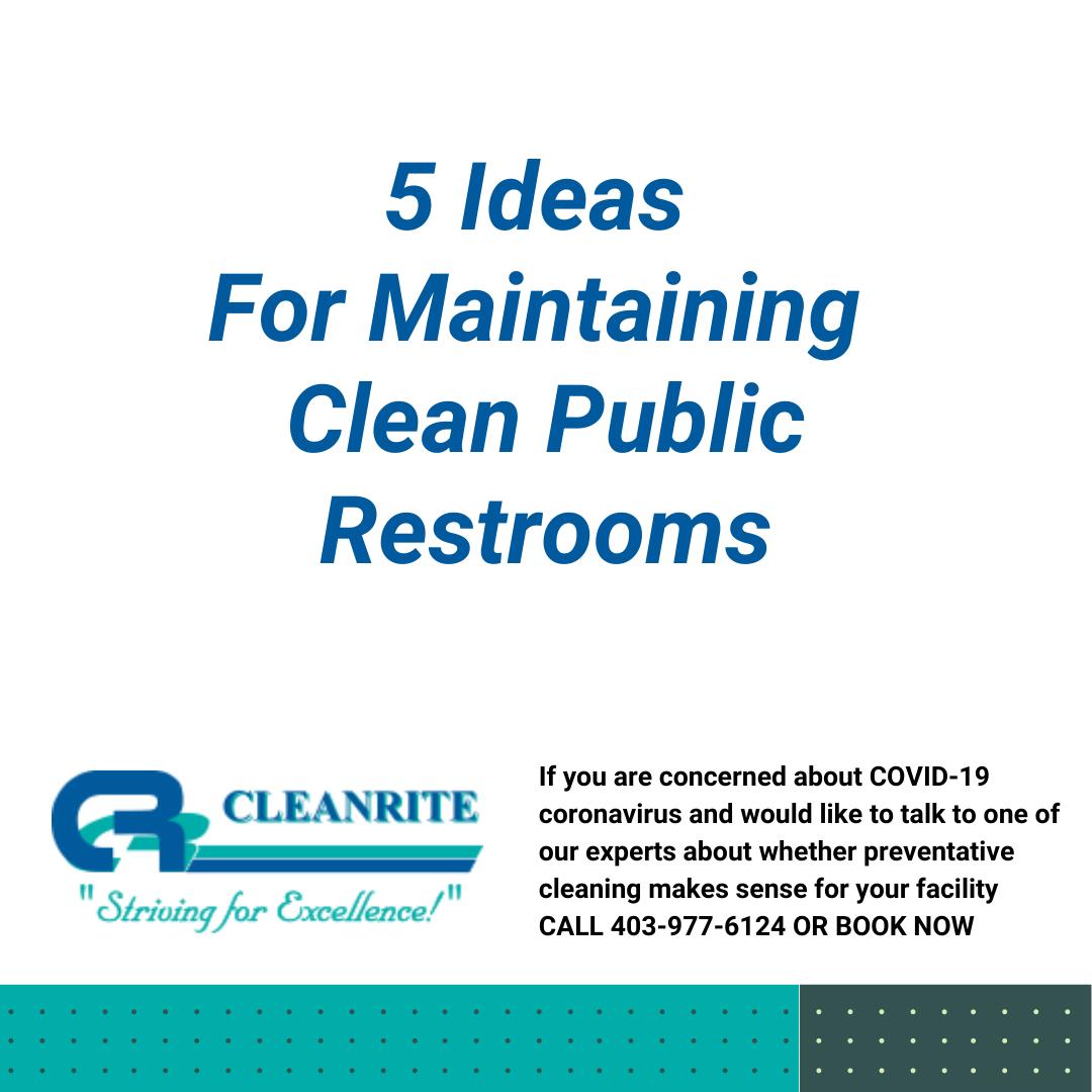 clean public restrooms
